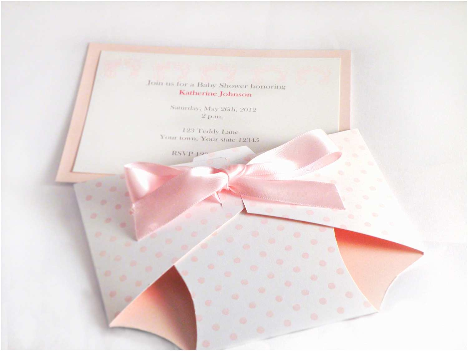 3d Baby Shower Invitations Diaper Baby Shower Invitation Announcement Baby by