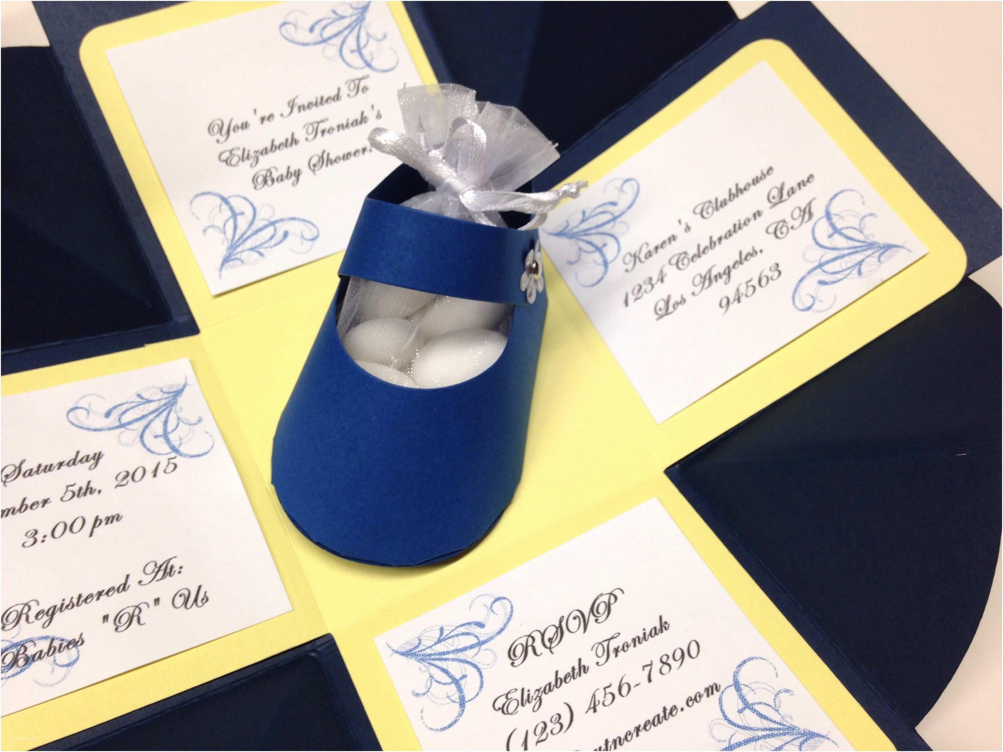 amazing 3d baby shower invitations