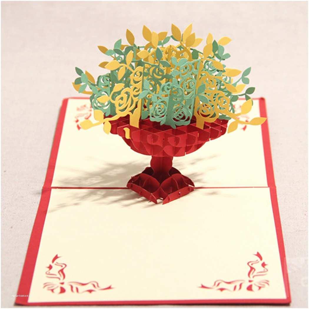 3d Wedding Invitations Greeting Cards Handmade Birthday Wedding Invitation 3d Pop