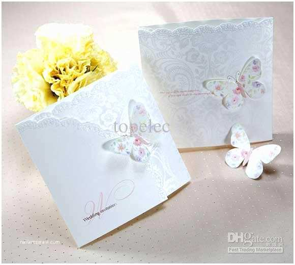 3d Wedding Invitations Unique 3d Butterfly Pattern Wedding Invitaions