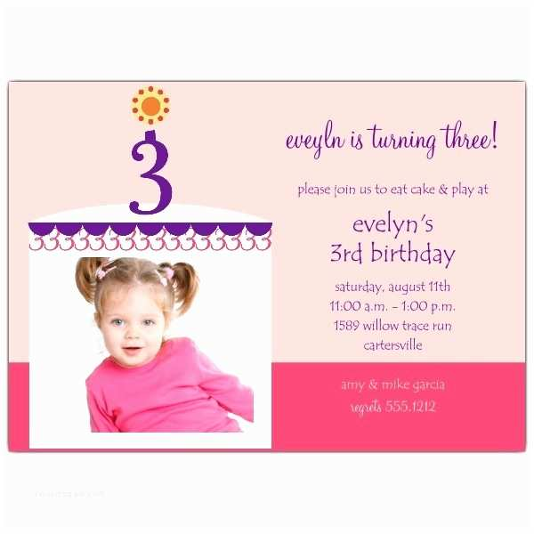 3rd Birthday Invitation Wording 3rd Birthday Invitation Wording A Birthday