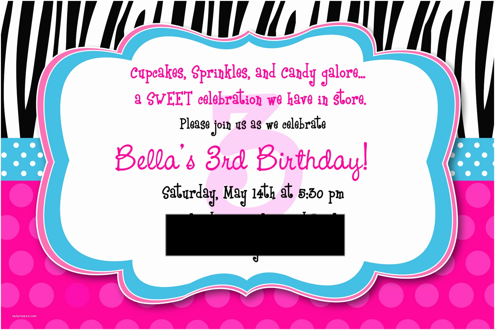 3rd Birthday Invitation Wording 3rd Birthday Invitation Wording –