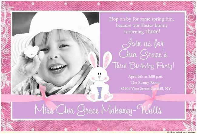 3rd Birthday Invitation Wording 3rd Birthday Invitations A Birthday