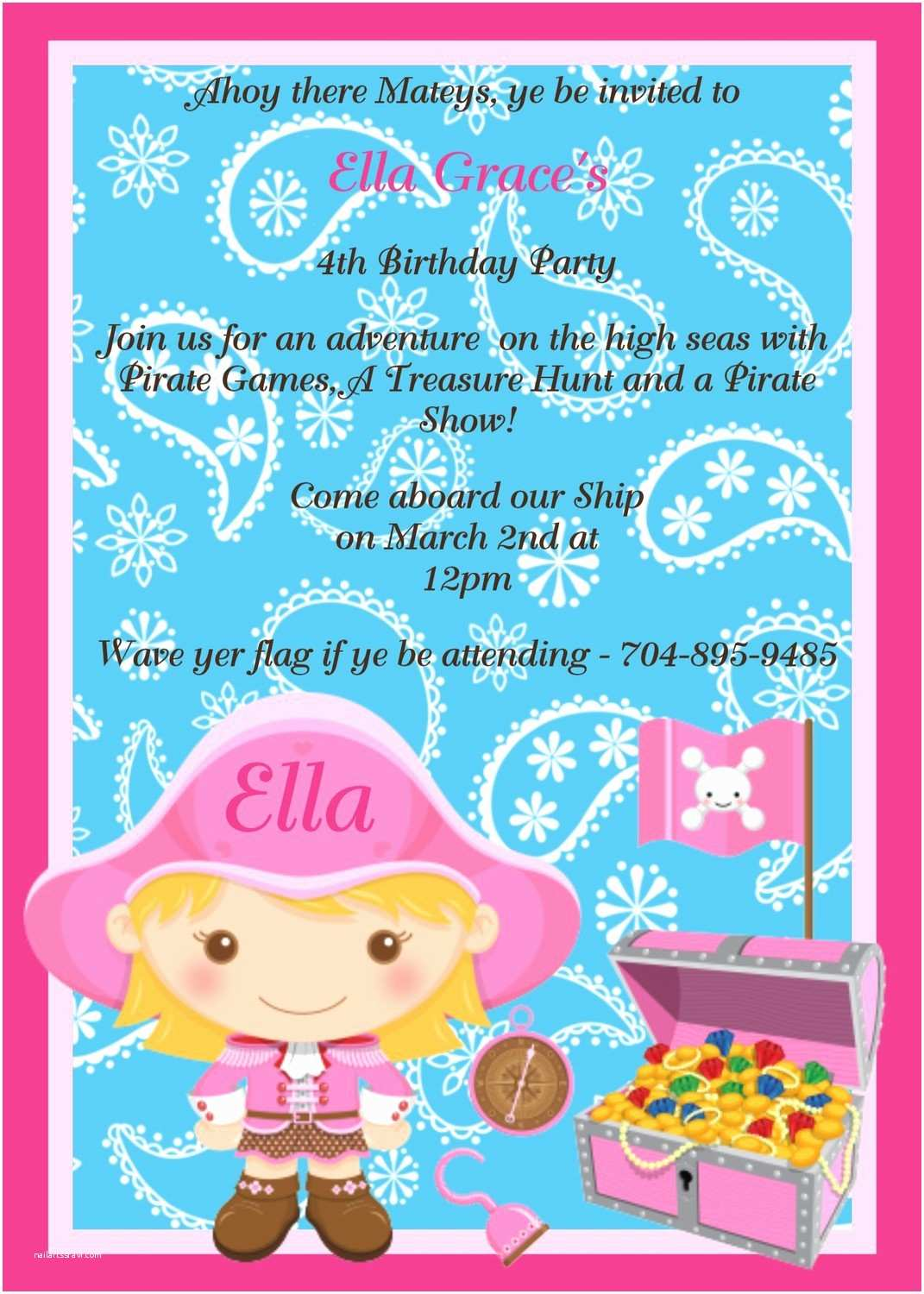 3rd Birthday Invitation Wording Party