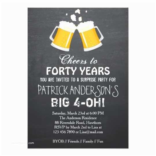 40th Birthday Invitation Free 40th Birthday Invitation Wording – Bagvania Free
