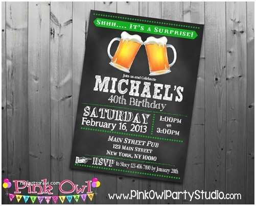 40th Birthday Party Invitations Surprise 40th Birthday Party Invitations Wording