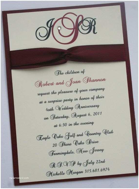 40th Wedding Anniversary S 40th Ruby Wedding Anniversary