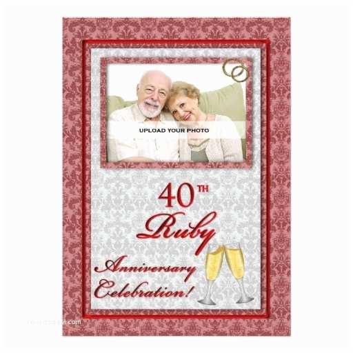 40th Wedding Anniversary  40th Ruby Wedding Anniversary