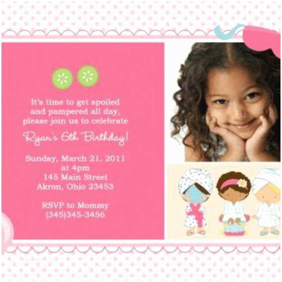 4th birthday invitation wording