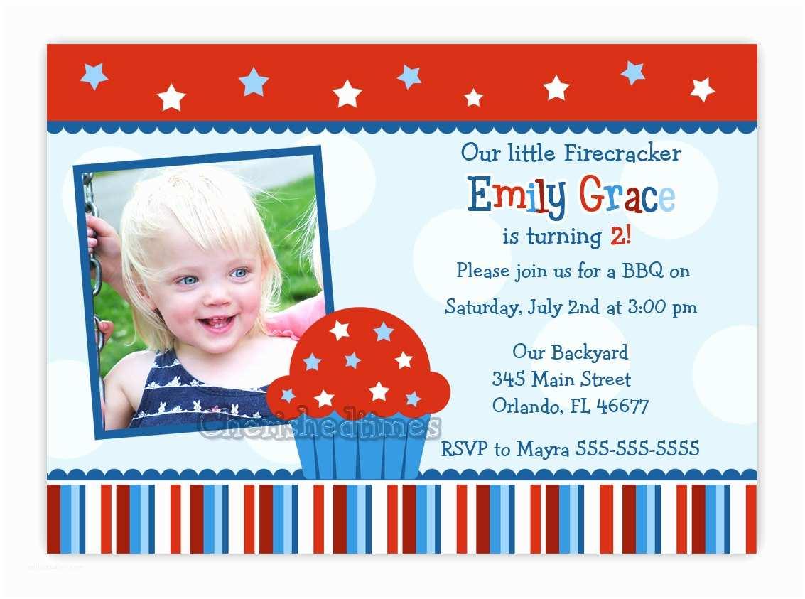 4th Birthday Invitation Wording Fourth