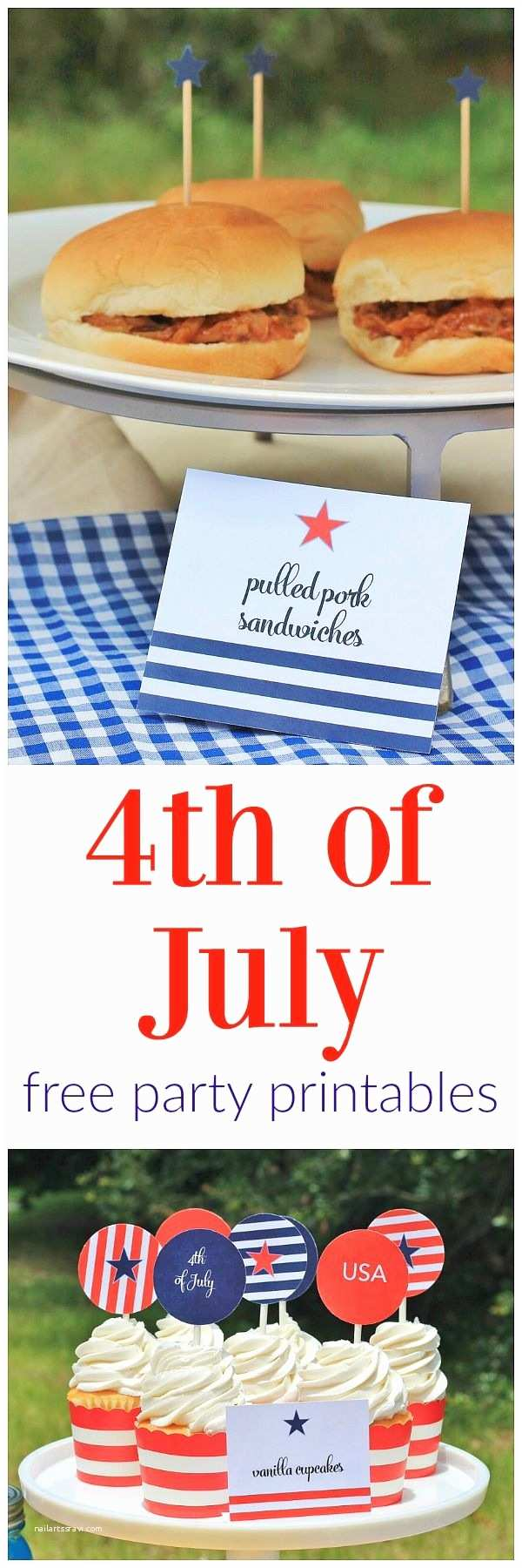 4th Of July Party Invitations 4th Of July Party Free Printable Set Includes A ton Of
