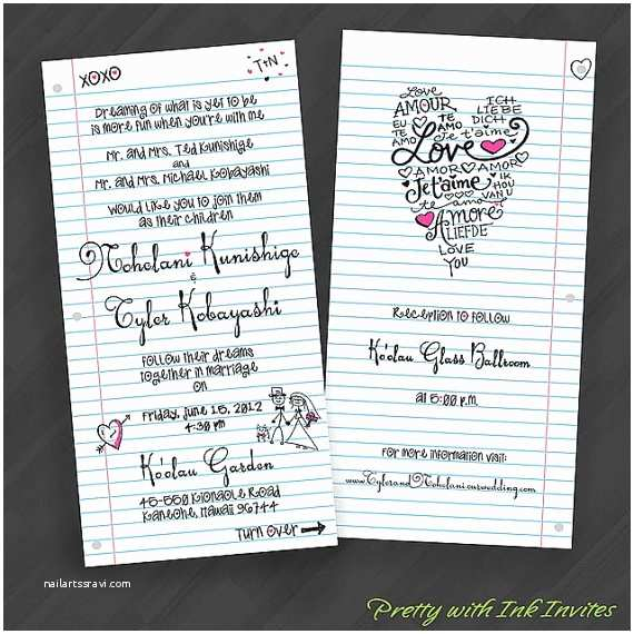 4x8 Wedding Invitations 79 Best Hot Pink Black and White Wedding Images On Pinterest