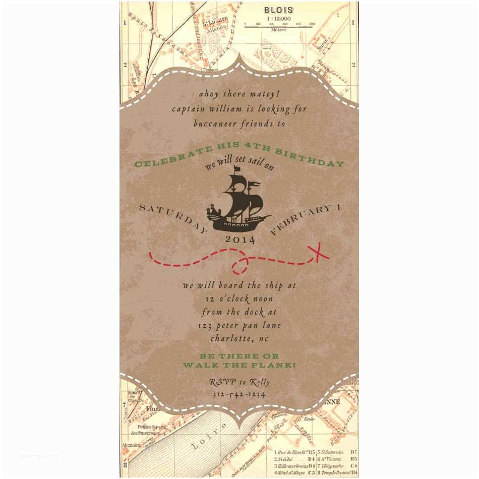 4x8 Wedding Invitations Pirate Wedding Invitation Various Invitation Card Design