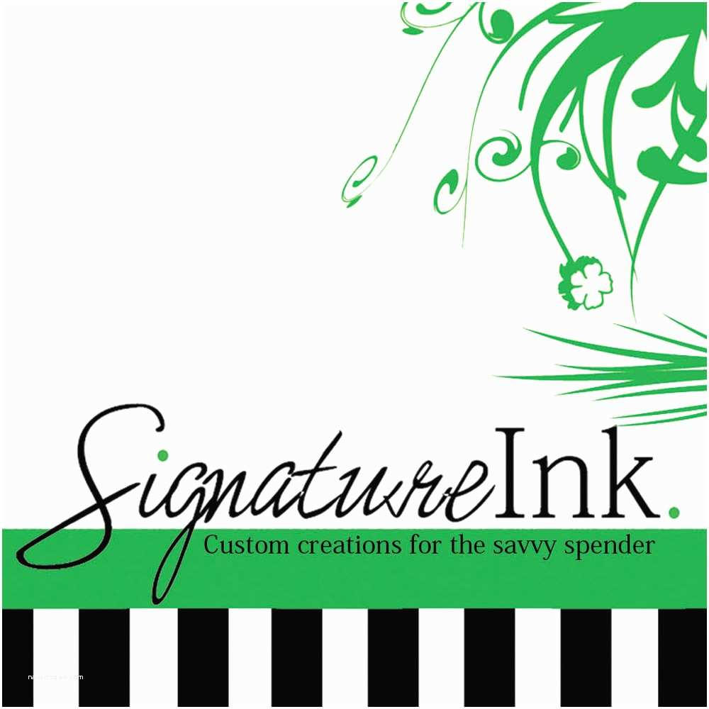 4x8 Wedding Invitations Signature Ink