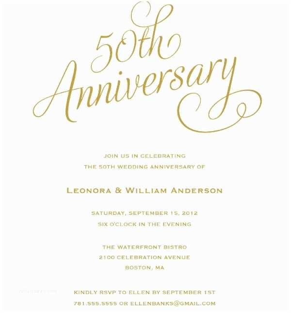 50 Wedding Anniversary Invitations 20 Wedding Anniversary Invitation Card Templates which