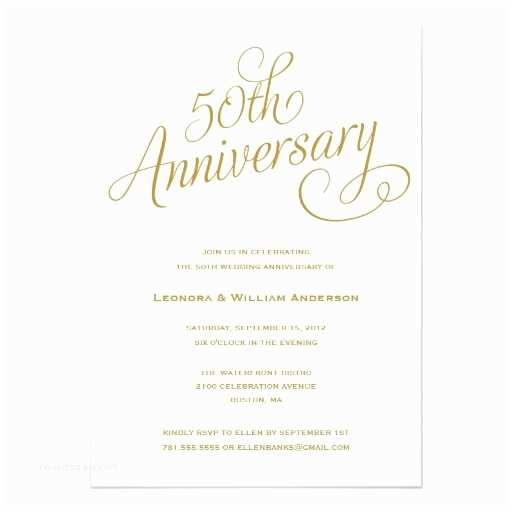 50 Wedding Anniversary Invitations 50th Wedding Anniversary Invitation Superdazzle Custom