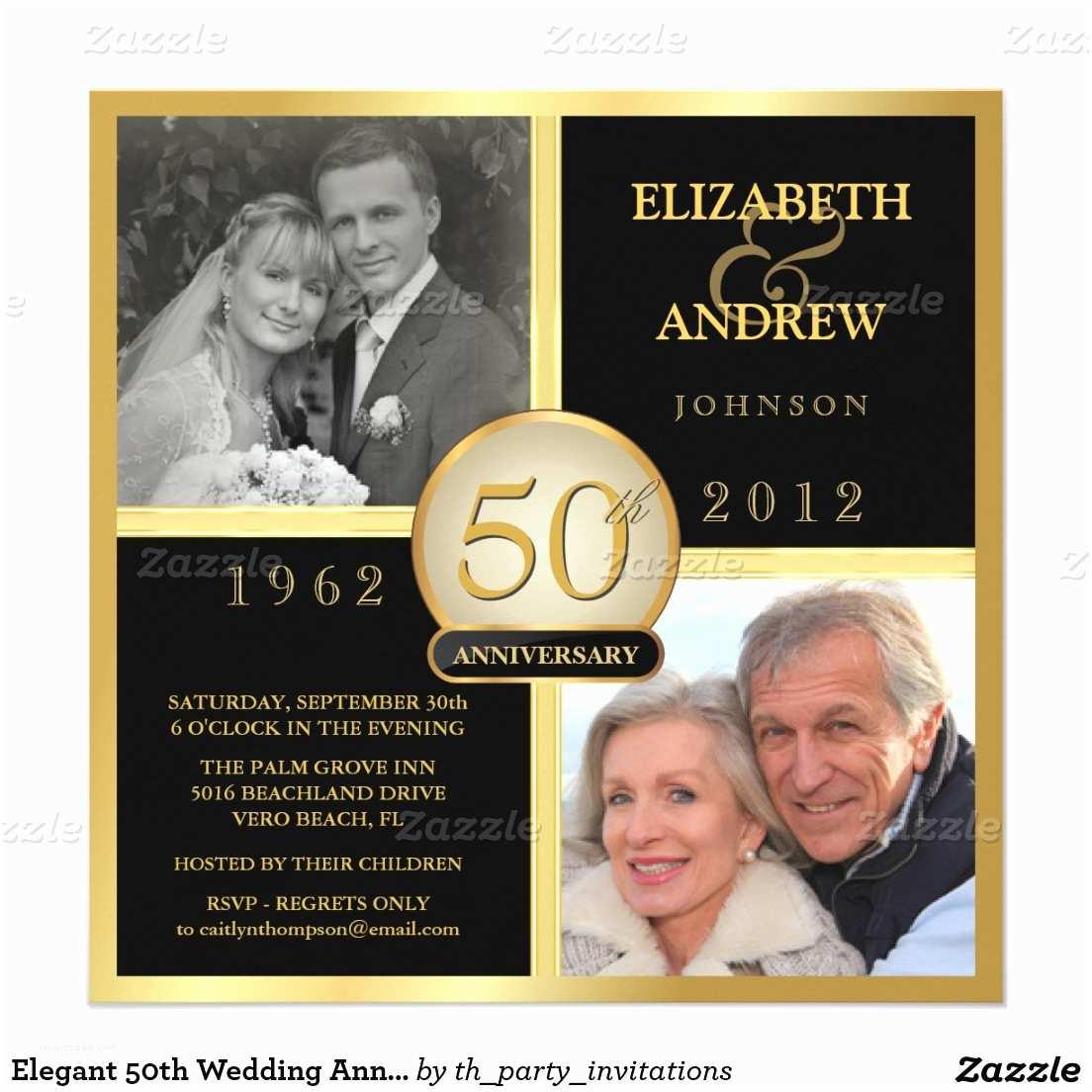 50 Wedding Anniversary Invitations Free Printable 50th Anniversary Invitations