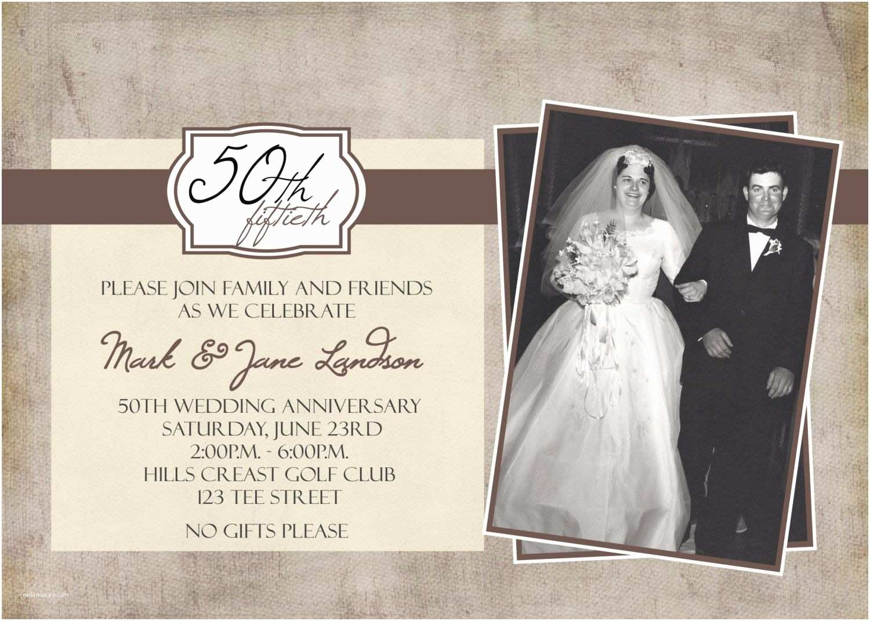 50 Wedding Anniversary Invitations Personalized Anniversary Invitations Personalized
