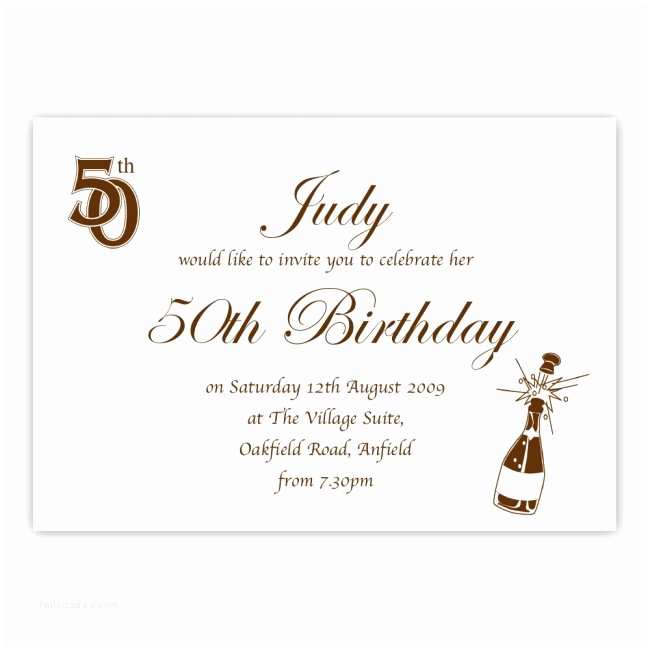50th Anniversary Party Invitations 50th Birthday Party Invitation Birthdays