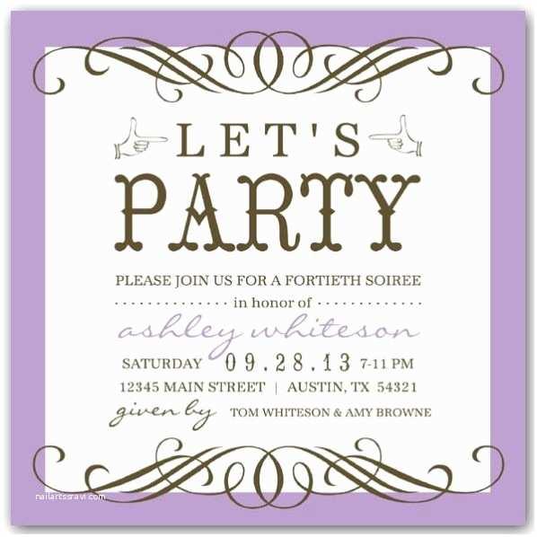 50th Anniversary Party Invitations 50th Birthday Party Invitations Wording