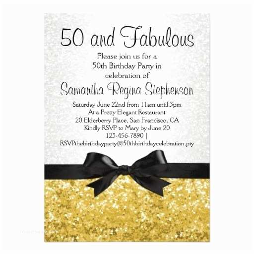 50th Birthday Invitation Template Bow Tie Free 50th Birthday Party Invitations Templates