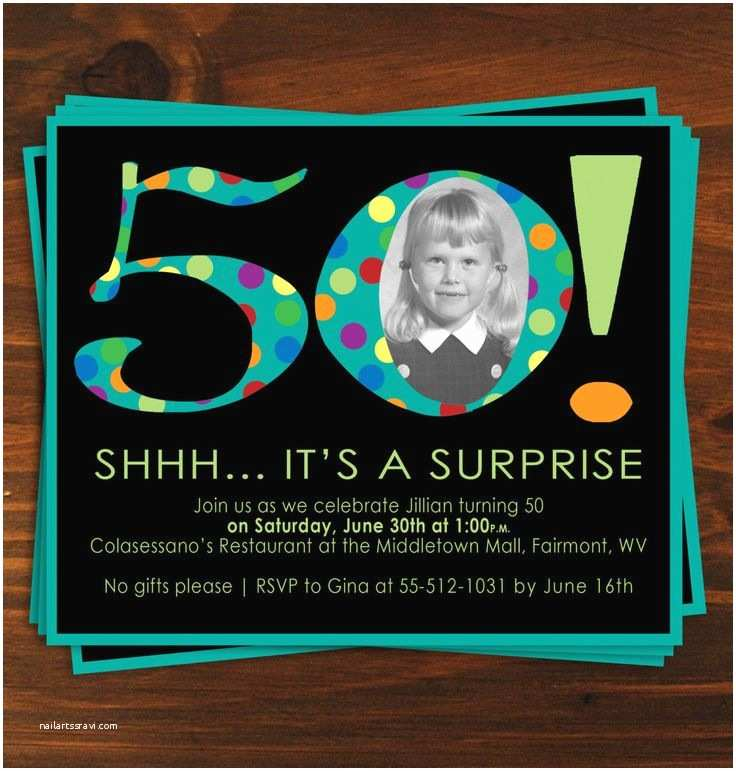 50th Birthday Invitation Wording 25 Best Ideas About 50th Birthday Invitations On