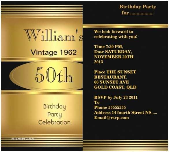 50th Birthday Invitation Wording 50th Birthday Invitations for Him