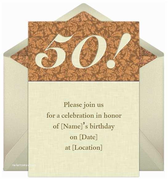 50th Birthday Invitation Wording Birthday Invites 50th Birthday Invitation Wording Sample