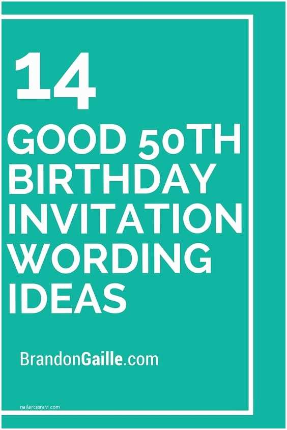 50th Birthday Invitation Wording Invitation Wording 50th Birthday Invitations and Birthday