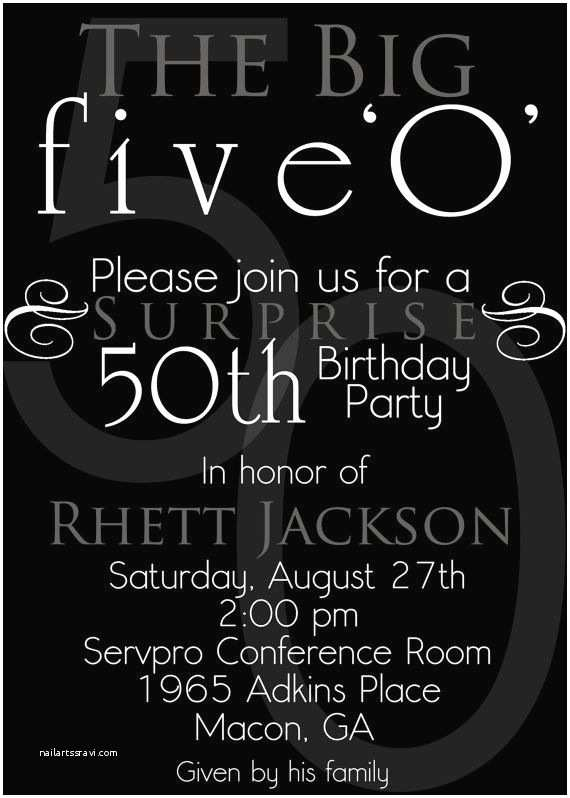 50th Birthday Invitations 152 Best 50th Birthday Party Ideas Images On Pinterest