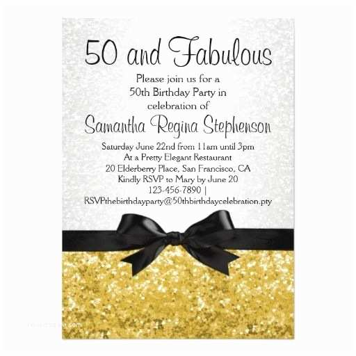 50th Birthday Invitations for Her top 17 50th Birthday Party Invitations for Her
