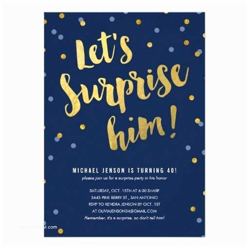 50th Birthday Invitations for Him 15 Best Surprise Party Invitations Images On Pinterest