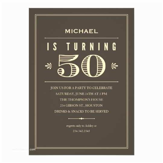 50th Birthday Invitations for Him 50th Birthday Invitations for Men