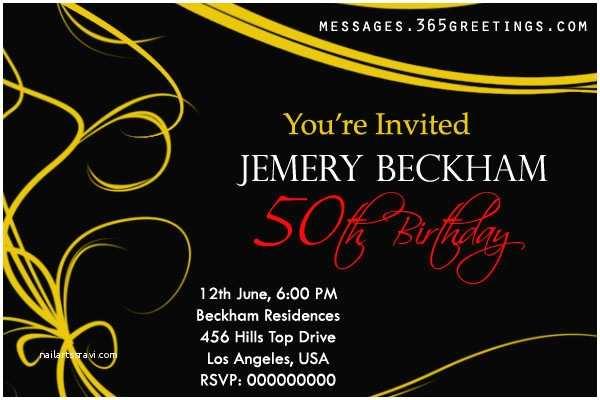 50th Birthday Party Invitations 50th Birthday Invitations and 50th Birthday Invitation
