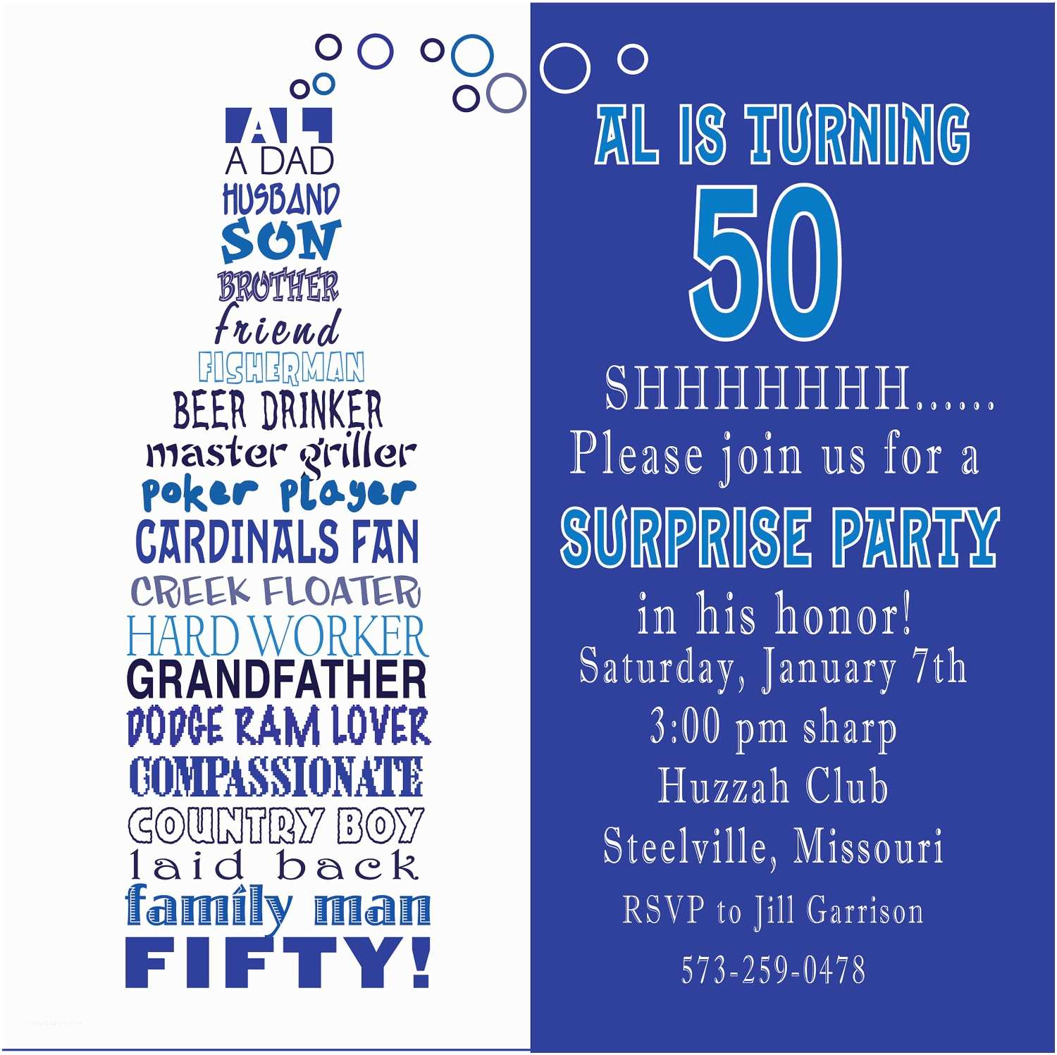 50th Birthday Party Invitations Quotes Invitation Quotesgram