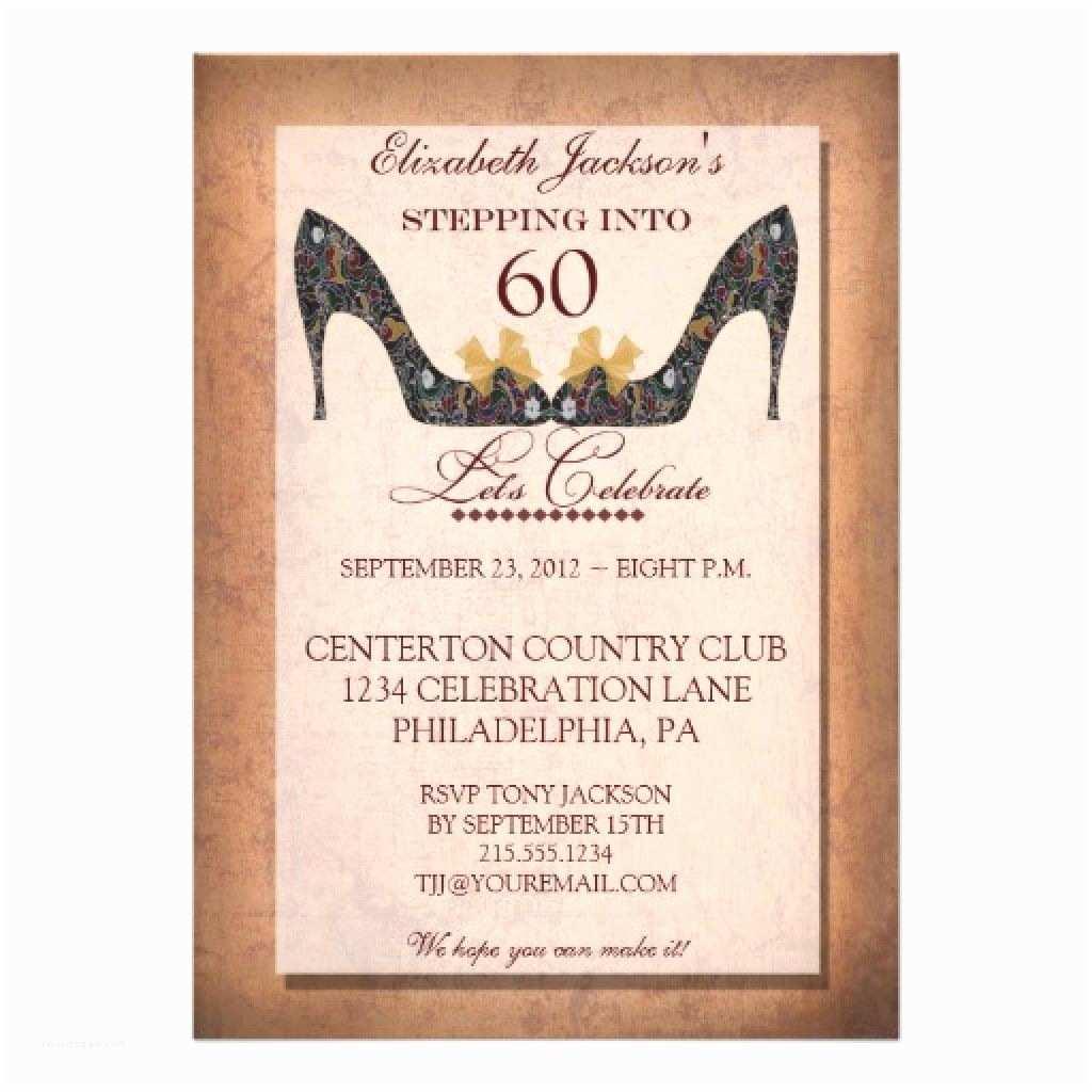 50th Birthday Party Invitations Surprise 60th Invitation Templates Free