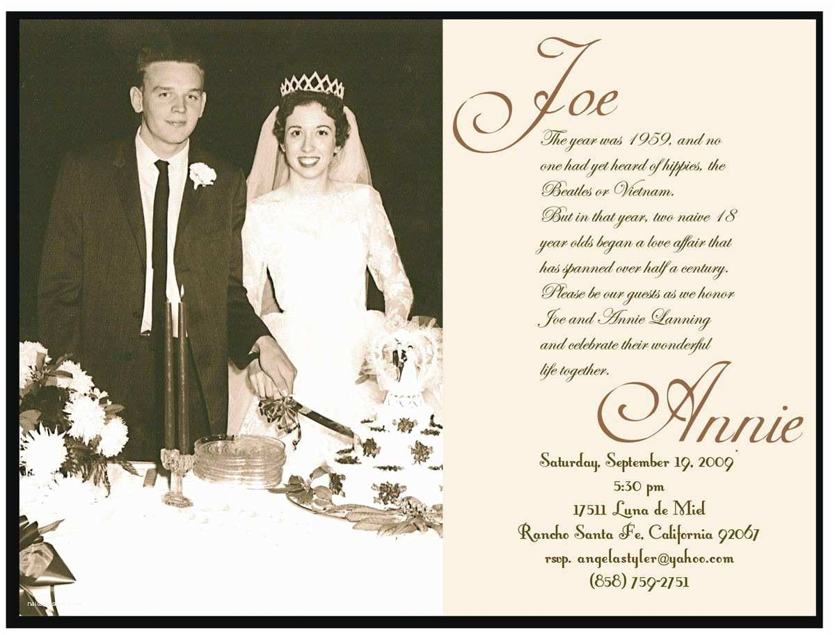 50th Wedding Anniversary Invitation Wording 25th Wedding Anniversary Invitations Templates