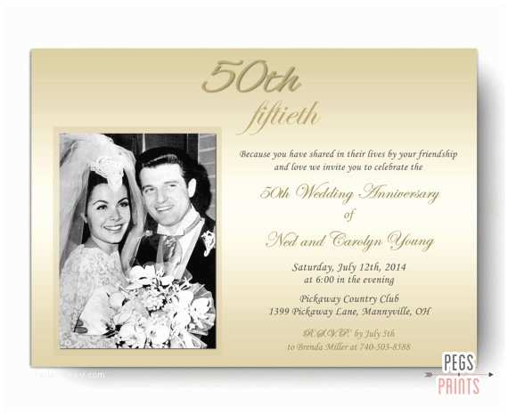 50th Wedding Anniversary Invitation Wording 50th Wedding Anniversary Invitations 50th Anniversary