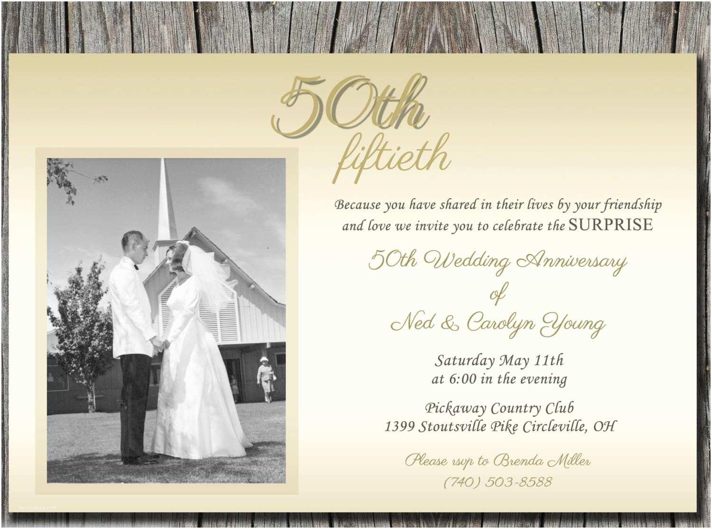 50th Wedding Anniversary Invitation Wording Elegant 50th Wedding Anniversary Invitations soft and