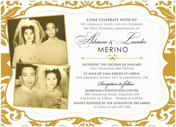 50th Wedding Anniversary Invitations Templates Anniversary Invitation Templates – 28 Free Psd Vector