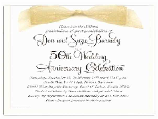 50th Wedding Invitation Templates 50th Wedding Anniversary Invitation Verses Image