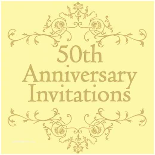 50th Wedding Invitation Templates Free 50th Wedding Anniversary Invitations Templates