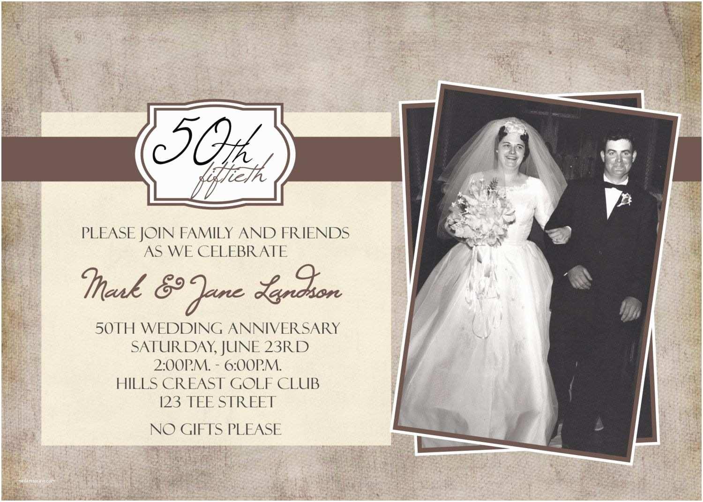 Wedding Anniversary Invitation Message: 50th Wedding Invitations 50th Wedding Anniversary