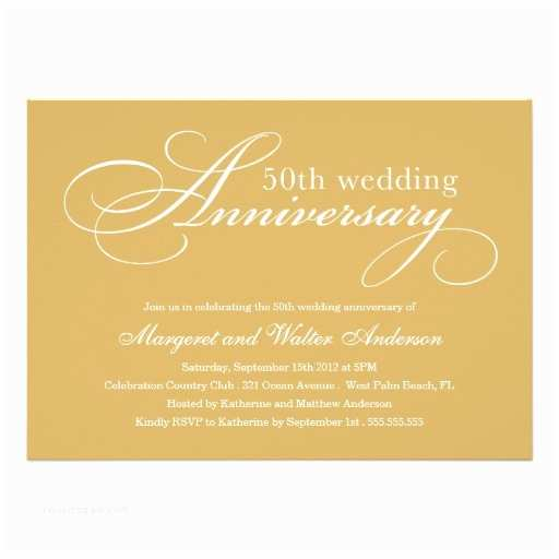 50th Wedding Invitations Designs 50th Wedding Invitation Wording