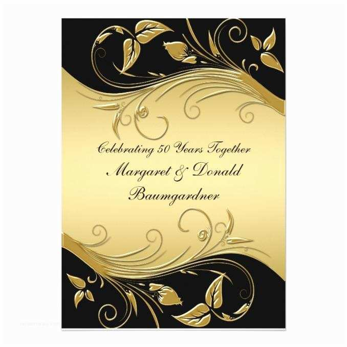50th Wedding Invitations Designs Vintage 50th Wedding Anniversary Invitation Wedding