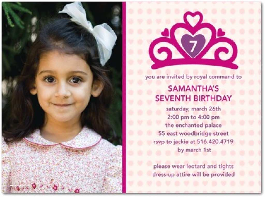5th Birthday Invitation Wording Message