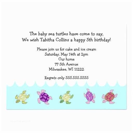 5th Birthday Invitation Wording 5th Birthday Party Invitation