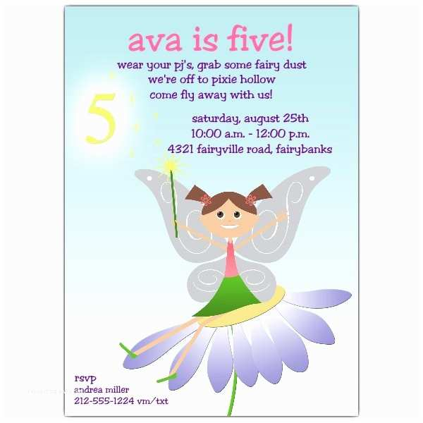 5th Birthday Invitation Wording Quotes