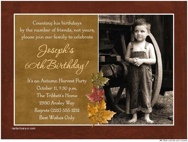 60 Birthday Invitations 60th Birthday Invitations for Men – Bagvania Free