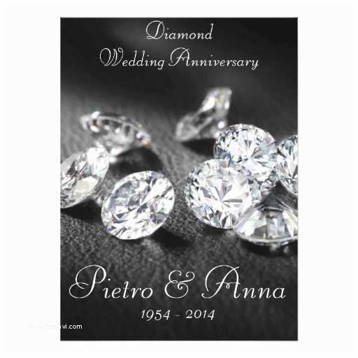 60th Wedding Anniversary Invitation Wording 60th Diamond Wedding Anniversary Invitation